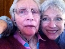 Mom and I November 1, 2014, just after music with Eric
